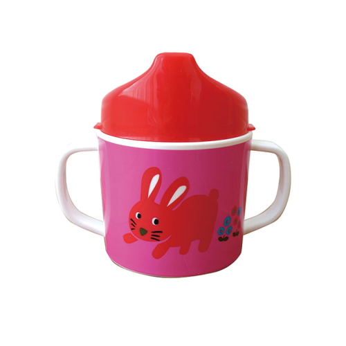Colorful Zoo both hands mug (with lid) PK * RD