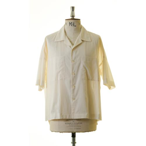 Oversized open collar shirt of paper and specifications (TM151)