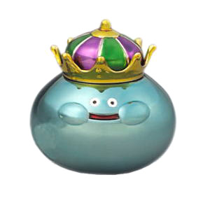 Dragon Quest Metalic Monsters Gallery King Slime (Figure)