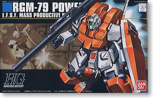 RGM-79 Powerd GM (HGUC) (Gundam Model Kits)