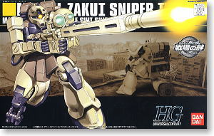 MS-5L Zaku I Sniper Type (HGUC) (Gundam Model Kits)
