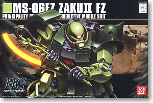 MS-6FZ Zaku II Custom (HGUC) (Gundam Model Kits)