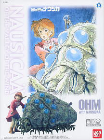 Ohm with Nausicaa (Plastic model)