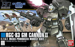RGC-83 GM Cannon II (HGUC) (Gundam Model Kits)