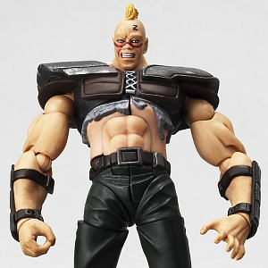 Legacy of Revoltech LR-7 Fist of The North Star Series Explosive! Zeed Team (PVC Figure)