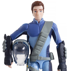 TBF-1 Thunderbirds Action Figure Scott Tracy (Completed)