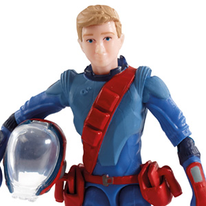 TBF-3 Thunderbirds Action Figure Alan Tracy (Completed)