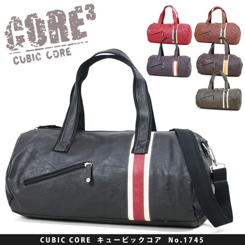 Boston bag CUBIC CORE (cubic core) 1745-yubi