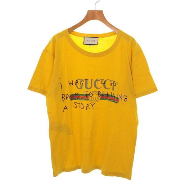 【Pre-Owned】 GUCCI T-shirts / Cut & Sew S