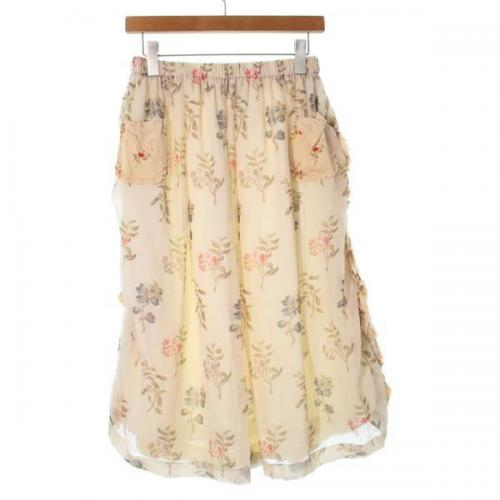 [Pre-Owned] tricot COMME des GARCONS skirt