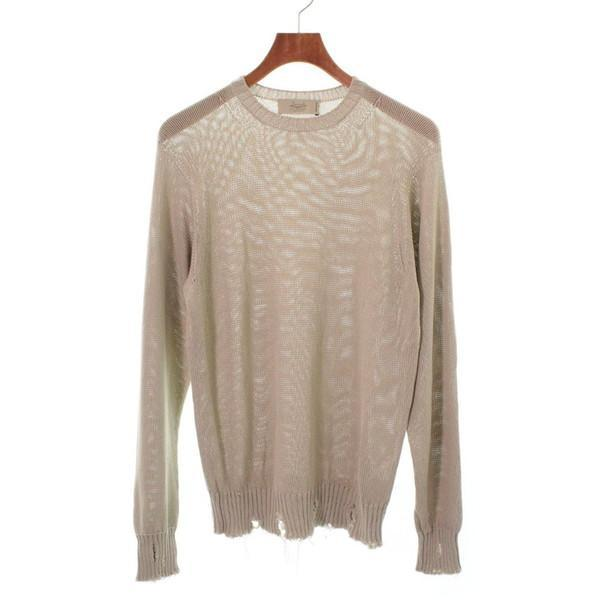 【Pre-Owned】 MAISON FLANEUR Knit Shirts 44(S位)