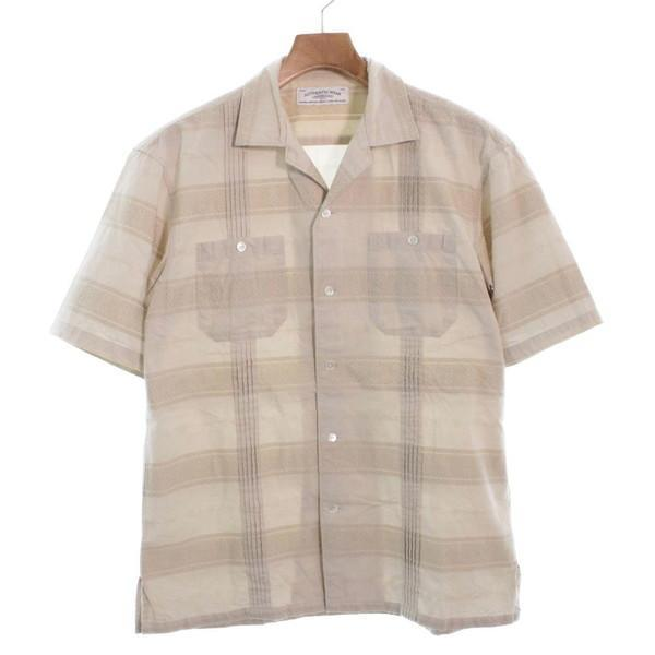 【Pre-Owned】 green label relaxing Dress Shirts L