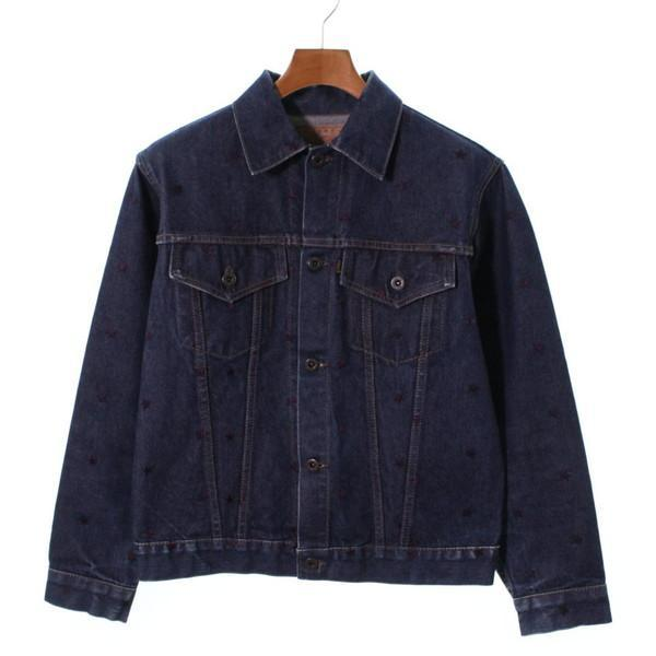 【Pre-Owned】 NEPENTHES HOGGS 블루종 38(L位)