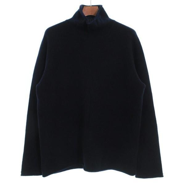 【Pre-Owned】 BLUE WORK Knit Shirts XL