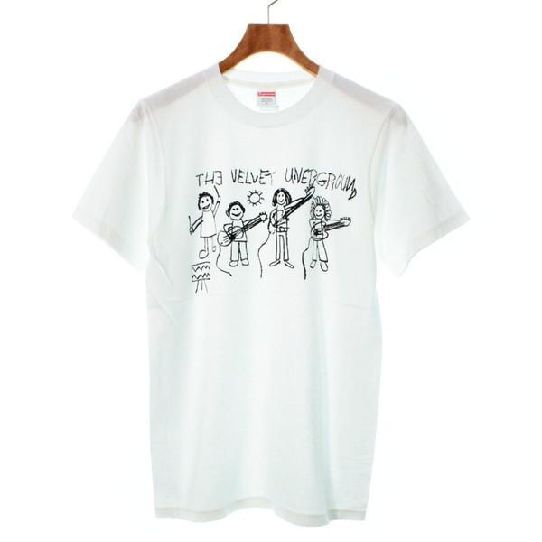 【Pre-Owned】 Supreme T-shirts/Cut & Sew S