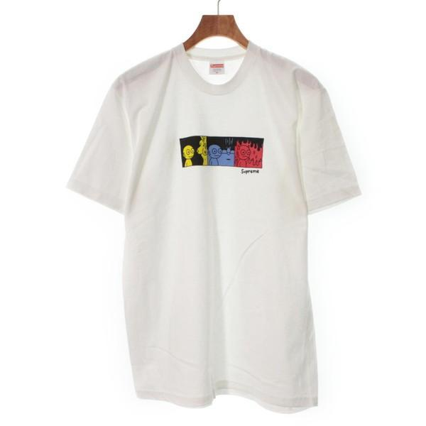 【Pre-Owned】 Supreme T-shirts/Cut & Sew M