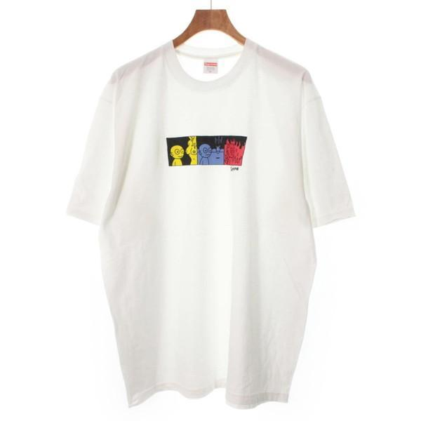【Pre-Owned】 Supreme T-shirts/Cut & Sew XL