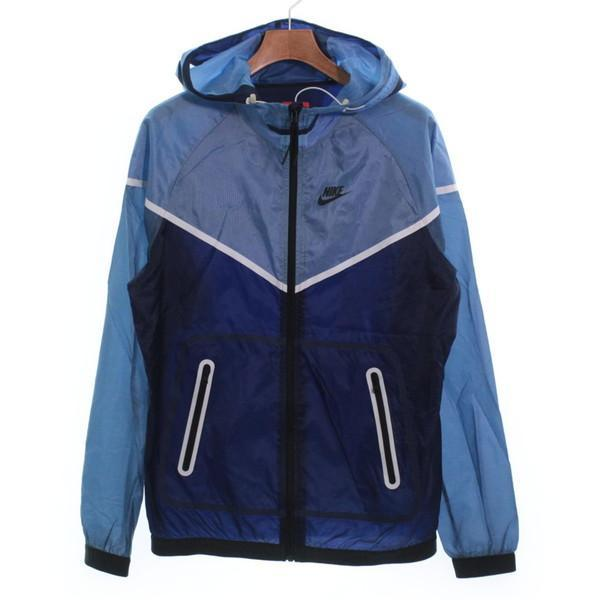 【Pre-Owned】 NIKE 블루종 M