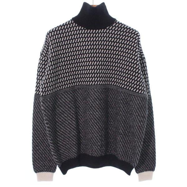 【Pre-Owned】 FACTOTUM Knit Shirts 48(L位)