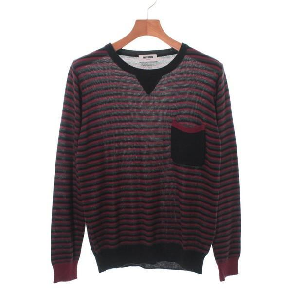 【Pre-Owned】 FACTOTUM Knit Shirts 44(S位)