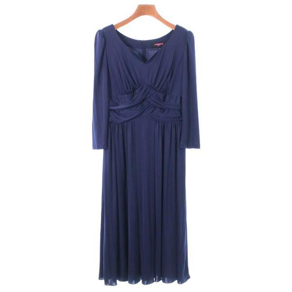 【Pre-Owned】 UNGARO SOIE One-piece Dresses 38(S位)