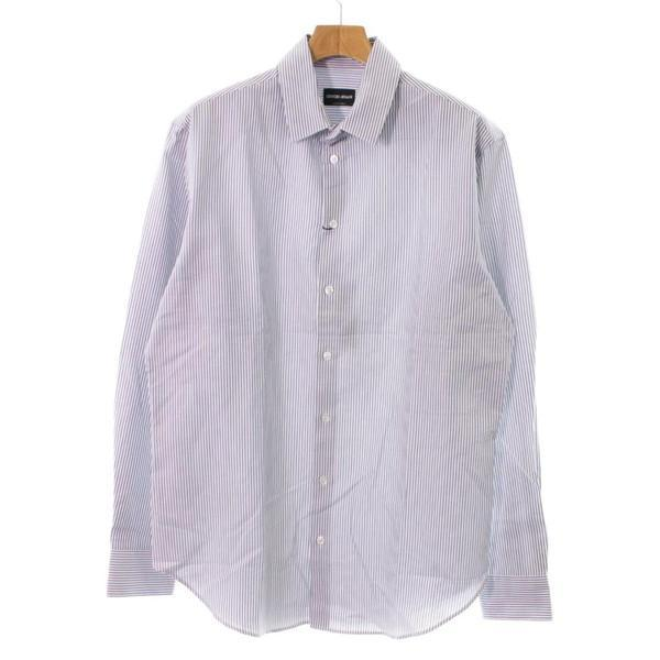 【Pre-Owned】 GIORGIO ARMANI Dress Shirts 41(XL位)