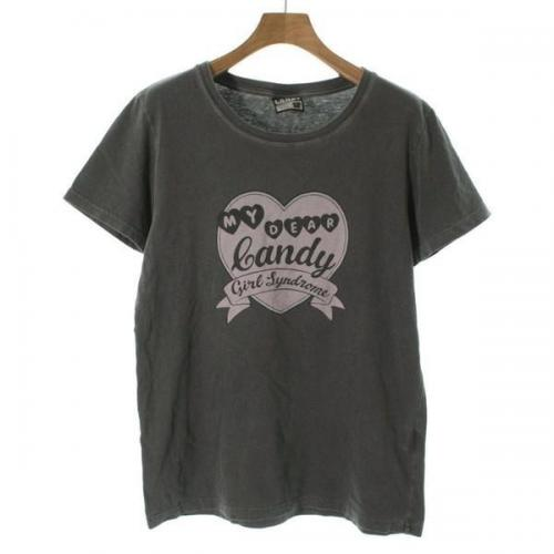 [Pre-Owned] Candy Stripper T-shirt size: 2 (M position)