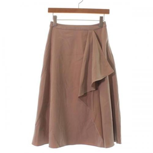 [Pre-Owned] Rouge vif skirt size: 36 (S position)