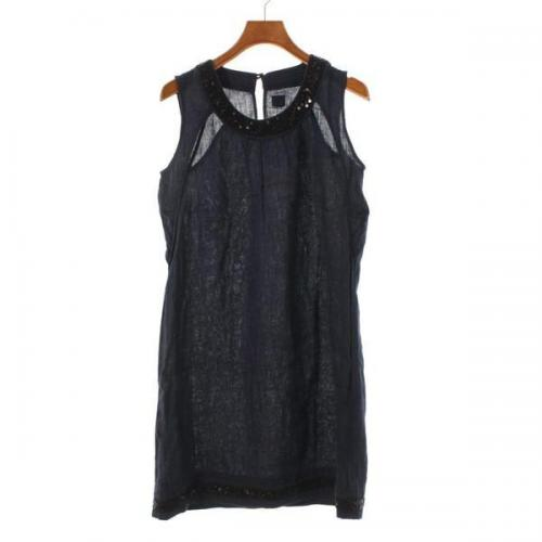 [Pre-Owned] 120% lino Dress size: 40 (M position)
