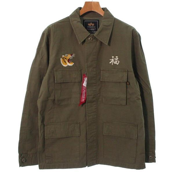 【Pre-Owned】 ALPHA 블루종 L