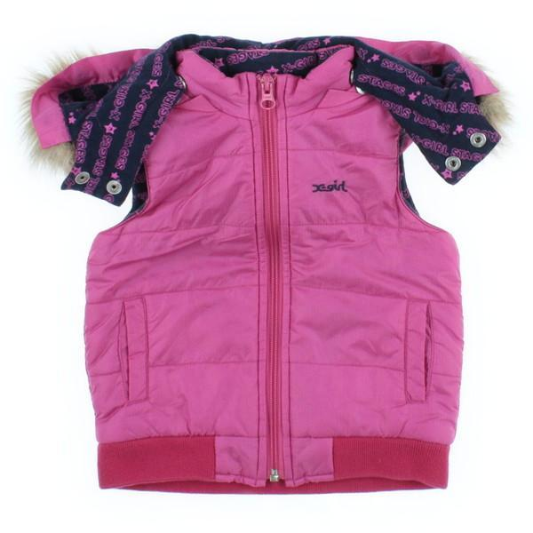 【Pre-Owned】 x-girl first stage 블루종 2T