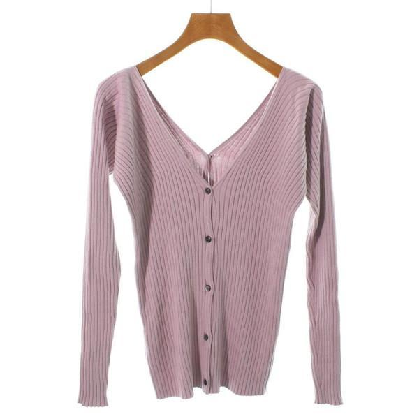 【Pre-Owned】 aqua girl Knit Shirts 36(S位)
