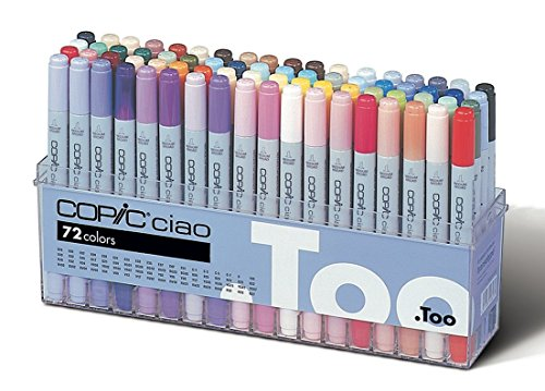 Too Copic Ciao 72 color Set A