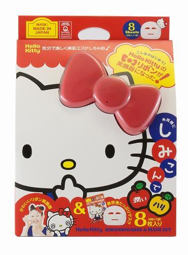 Hello Kitty Face Mask and Ribbon Accessory