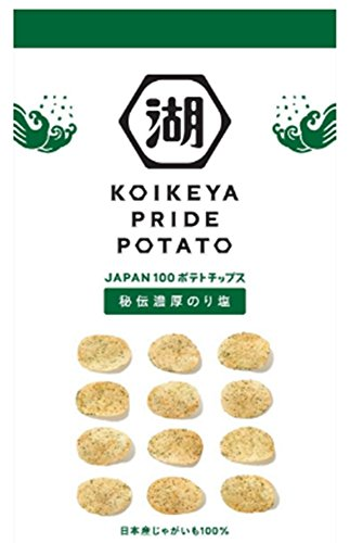 Mizuumichiya PRIDE potato secret thick seaweed salt 63g x12 pieces
