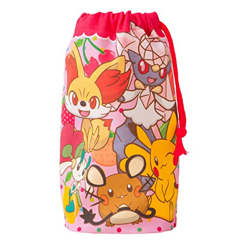 Pokemon Center Original cup bag fruit pattern