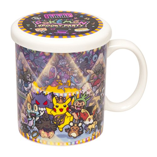 Pokemon Center Original lidded mugs POKEMON Spooky Party
