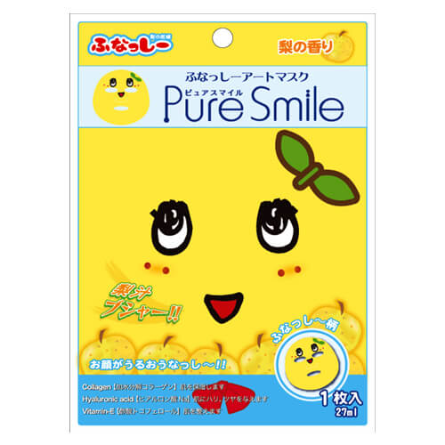 Pure Smile ふなっしー アートマスク 1枚入