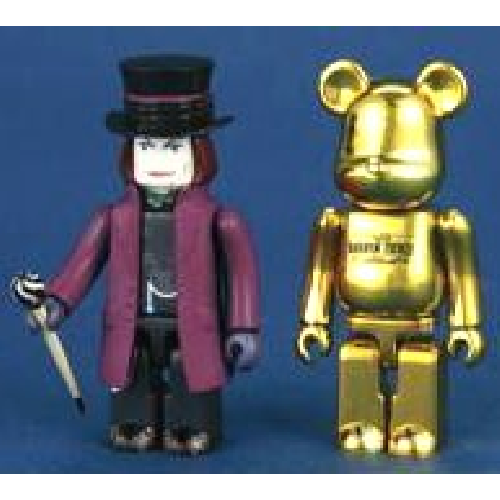 Medicom Toy Charlie and the Chocolate Factory Willy Wonka KUBRICK