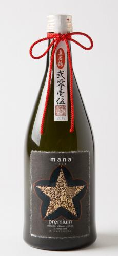 PARKER POINT 90 point win! Single mash unfiltered pure rice Genshu mana1751 premium (720ml)