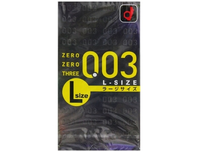 Zero Zero Three L Size (1 pieces)