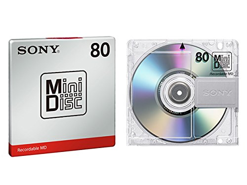 SONY mini-disc (80 minutes) MDW80T