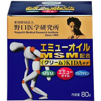 KIDA Emu Oil & MSM blended Kida cream 80G