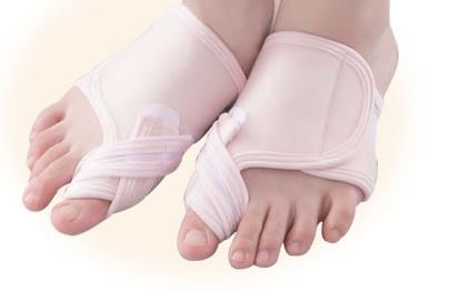 Shemoa hallux valgus supporters both feet set while sleeping