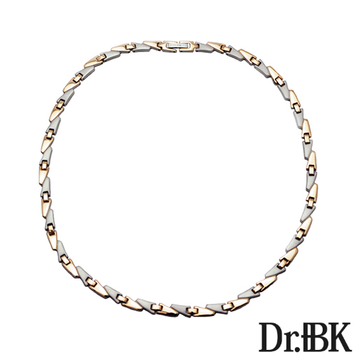 Dr. + BK germanium necklace NS001 Series (Pink Gold)
