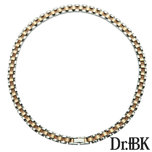 Dr. + BK germanium necklace NS002 Series (Pink Gold)