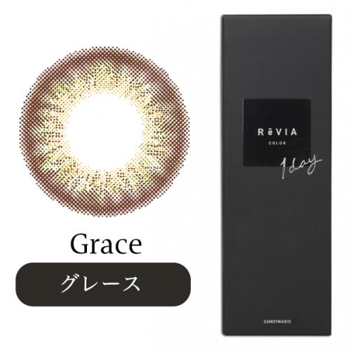 ReVIA 1day COLOR 【Color Contacts/1 Day/Prescription, No Prescription/10Lenses】