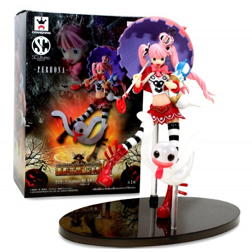One Piece SCultures BIG modeling king summit decisive battle 2 vol.2 Perona outside the box high about 180mm figure