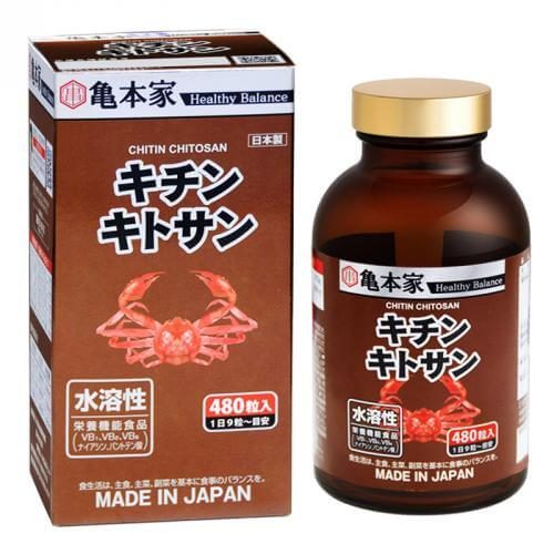 Turtle Honke chicken chitosan 480 tablets