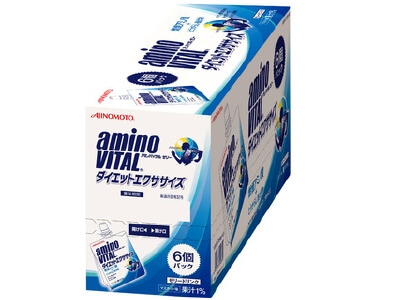 AMINO VITAL jelly (180G × 6 pieces) Diet Exercise